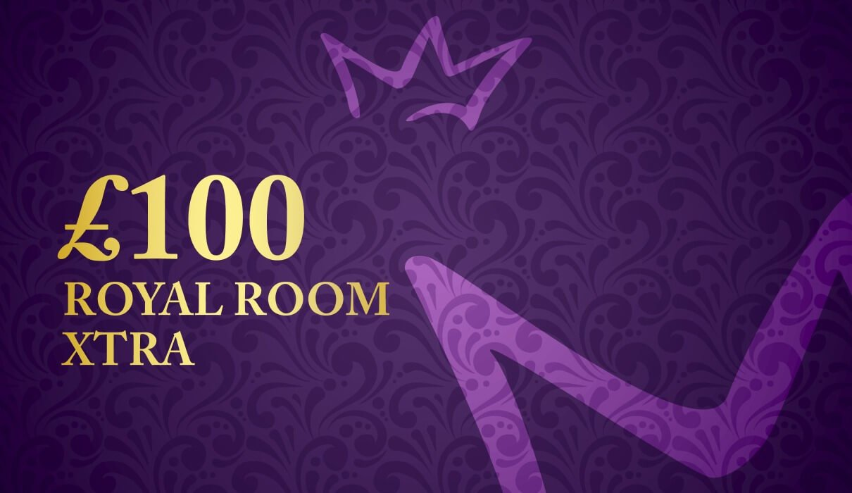 Our players are invited to play for a share of £100. You can find the £100 Royal Room Xtra game under the Royal Room tab.