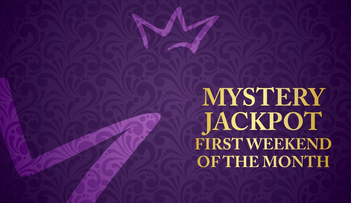 Welcome to our very own Royal Room Mystery Jackpot game which you can find under the Royal Room tab taking place first weekend of the month.