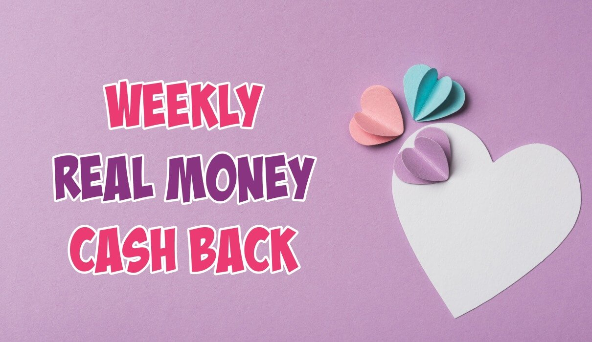 Fridays are simply the BEST especially when you receive our 10% Real Money Cash Back up to £50 – NO WAGERING!