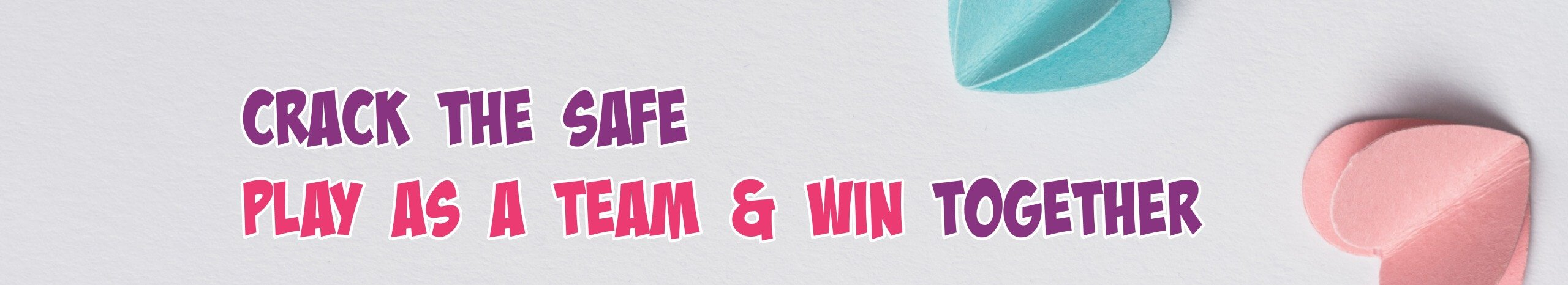 Crack the safe as a team! In there, you will find a cash reward of £1,000 as well as 1,000 Free Spins, one Amazon Echo, one Apple Watch and a Bean To Coffee Machine.